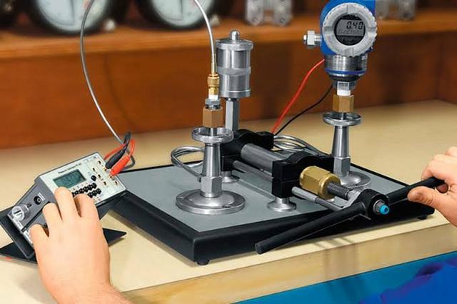 Calibração no laboratorio
